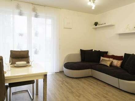 Sonnige, neuwertige 3-Raum-Wohnung mit Gartenanteil im Zentrum von Perg