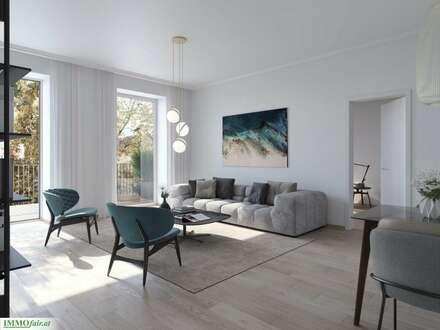 THE RARITY! Lebensqualität Pur! 4-Zimmer-Wohnung mit südseitigem Balkon in urbaner Toplage beim Theresianum!