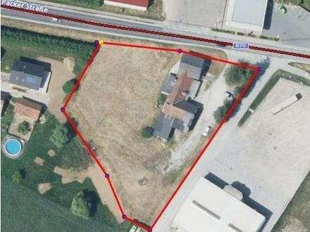 GEW: Grundstück, Gasthaus direkt am A- 2 Zubringer Mooskirchen