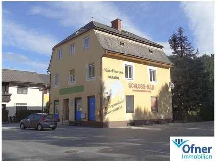 Wohn- und Geschäftshaus mit Vergangenheit und Zukunft