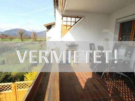 VERMIETET! Geräumige 3-Zi-Mietwohnung in Niederndorf mit Blick aufs Kaisergebirge