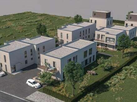 Nähe Einkaufszentrum G3 und S1. Im Herzen des Weinviertels. Designereinfamilienhaus mit Carport und großer Terrasse.