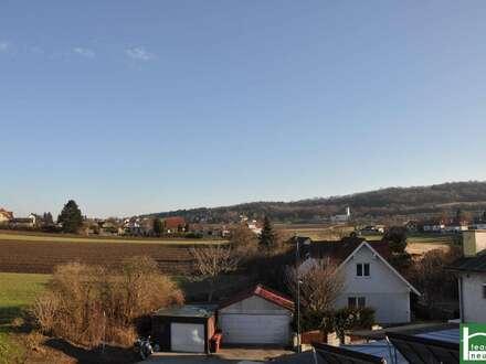 Provisionsfreier Neubau nähe Korneuburg! sofort beziehbar! zwei Terrassen mit Ausblick!