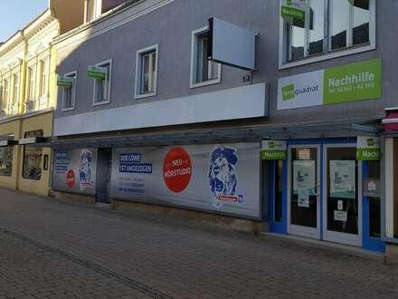 Vielseitig verwendbares, barrierefreies Geschäftslokal in der Fußgängerzone in Bruck/Leitha