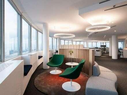 Büros mit atemberaubendem Weitblick im Millennium Tower
