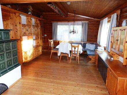 Origenelles Rustikales-Holz-Blockhaus