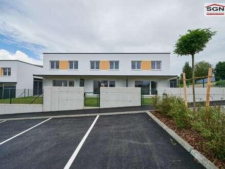 Freiwerdendes gefördertes 4-Zimmer Reihenhaus mit 2 PKW-Abstellplätzen und Kaufoption.