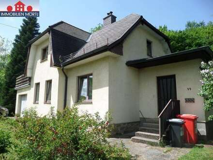 Charmantes Wienerwaldhaus mit Blick Richtung Schöpfl