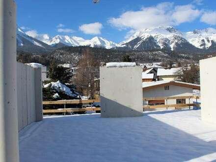 Großzügige Terrassenwohnung mit einem schönen Ausblick...