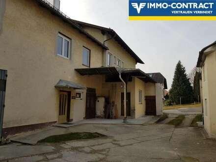 Wohnhaus mit zwei Wohneinheiten und Werkstätte und sanierungsbedürftigem Haus!