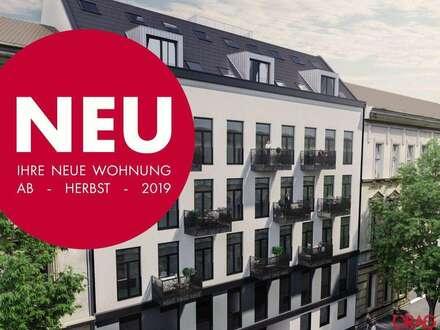 Wohnen im wunderschönen 5.Bezirk mit Blick über Wien : 4-Zimmer-Maisonette Neubauwohnung zu mieten