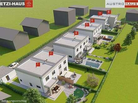 Gmunden: Doppelhaus aus Ziegel + Grund ab € 313.000,-