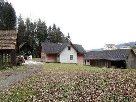 Nähe Deutschlandsberg: Bäuerliches Juwel in schöner Wald- und Dorfrandlage