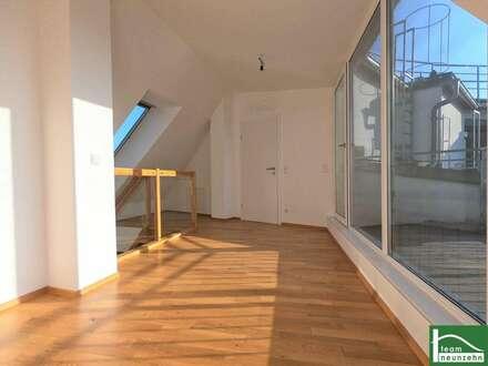 Traumhafter Ausblick auf zwei TERRASSEN - Dachgeschoss-Maisonette! Helle 3 Zimmer mit toller Aufteilung! - Bahnhof Korneuburg…