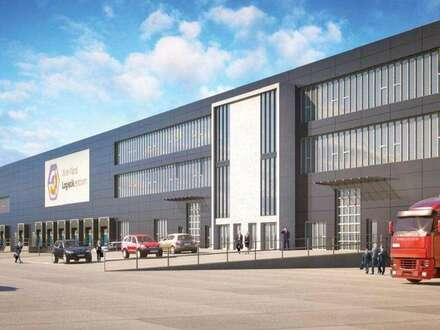 Lagerhalle und Büro Kombi im Logistikzentrum Wien Nord zu mieten