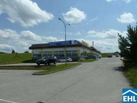 Geschäftslokal mit Parkplätzen in Waidhofen/Thaya