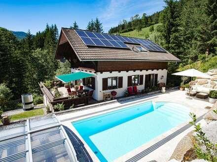 charmantes Landhaus mit traumhaften Garten und Panoramablick