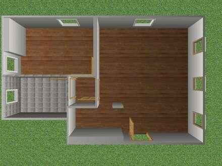 Perfekt aufgeteilte 2 Zimmer Dachgeschoss Wohnung mit Parkplatz