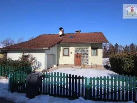 Schönes 155m² Wohnhaus in Maria Saal mit 1.218m² Grundstück in toller Aussichtslage (Sackgasse)!