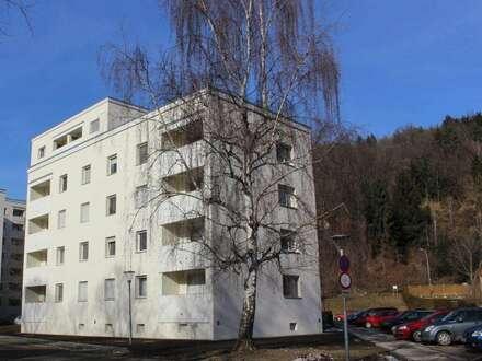 Familienfreundliche 3-Zimmer-Wohnung mit sonnigem Balkon und Parkplatz -Wohnen in herrlicher Ruhelage am Murufer! Provisionsfrei!