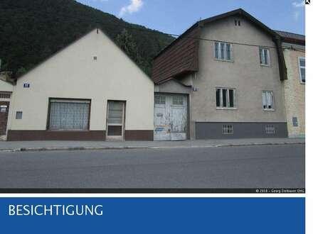 Gloggnitz - Zwei renovierungsbedürftige Althäuser zu verkaufen