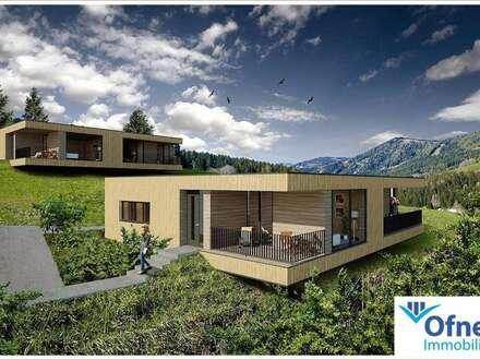 Die neue Ferienhäuser-Generation: modernste Chalets in Hirschegg