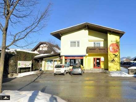 KUNDL - attraktive Verkaufsräume 77,00 m² und Mietwohnung 100,90 m² - Büro 16,30 m², flexibel und vielseitig, alles unter…