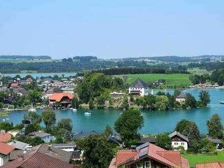 Wohnen am See, 3- Zimmer Neubau Gartenwohnung in Mattsee - zum Kauf