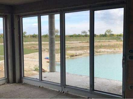 Wohntraum am See mit Garten und Strand! Nur noch 4 Eigentumswohnungen! Incl. 2 PKW Abstellplätze!!! Eigener Seezugang!