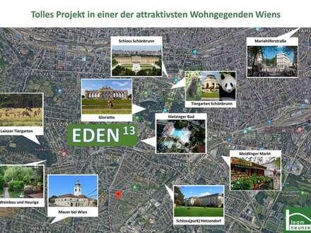 Eden 13- Toll geplante helle Wohnung! mit Loggia! 9 min zur U-Bahn!!