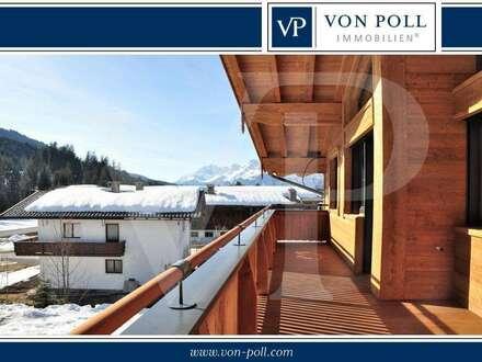 Traditionelle Dachgeschosswohnung in idyllischer Lage von Fieberbrunn