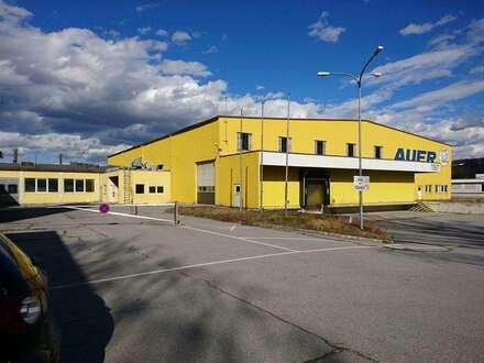 Großes Betriebsobjekt mit diversen Hallen in Spillern! Widmung Bauland Industrie