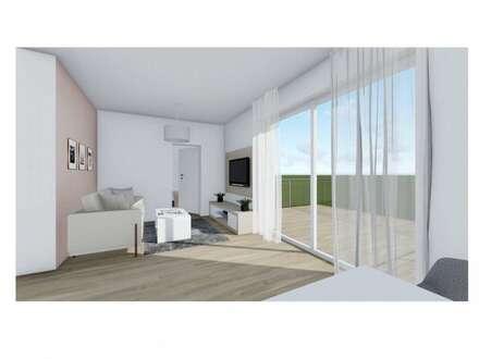Kleine, aber feine Zwei-Zimmer-Obergeschoßwohnung mit Eigengarten