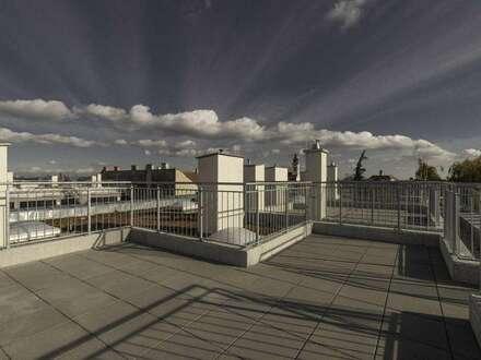 Wunderschöne Dachgeschoßwohnung (belagsfertig) mit großzügiger Dachterrasse im alten Ortskern!