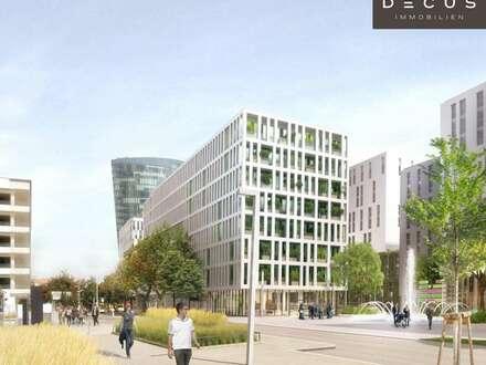 Büro an der Trabrennbahn | DENK DREI im VIERTEL ZWEI Plus