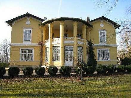 Historische Villa mit Park auf großem Grund