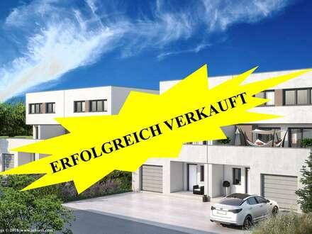 ARCHITEKTENGEPLANTE DHH DELUXE IN AUSSICHTSLAGE 500m² GRUNDSTÜCK - 30m² SÜDWESTTERRASSE - OFFENER 50m² WOHNBEREICH H4
