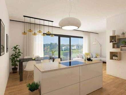 Erstbezug – 3-Zimmer-Wohnung mit idealer Raumaufteilung und 156 m² großem Eigengarten