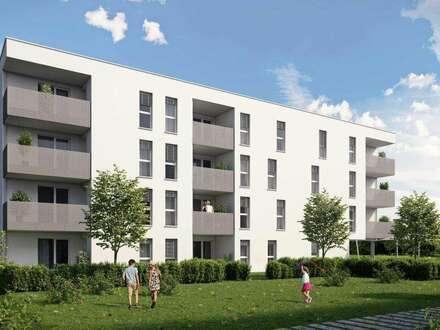 Provisionsfrei -Dreiseitig orientierte Wohnung ermöglicht ein Leben mit der Sonne! Leistbar dank großer Wohnbauförderung!