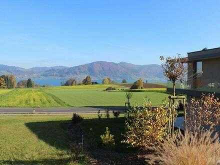 Hochwertige Gartenwohnung mit fantastischem See- und Gebirgsblick
