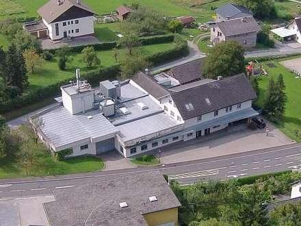 St. Egyden, VELDEN   Betriebsgebäude mit Fernheizwerk, ehem. Tischlerei