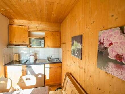 KAUFVEREINBARUNG!!! ein gemütliches Holzblock-Ferienhaus - mit der Kombination Vermietung und Eigennutzung - in schöner Naturlage