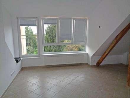 Bisamberg: Dachgeschosswohnung mit Gartenbenutzung