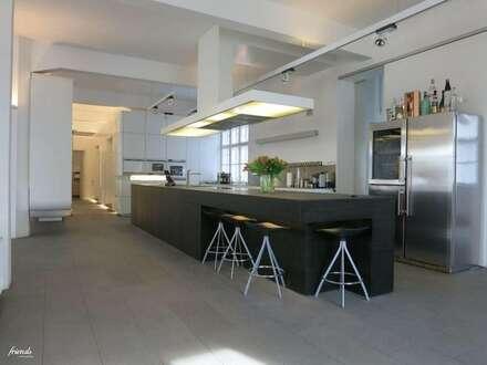 Repräsentatives Loft/Atelier für urbanes Arbeiten und Wohnen - ruhige, zentrale Südlage mit Terrasse - 12. Bezirk direkt an der Grenze zum 5. und 6. Bezirk