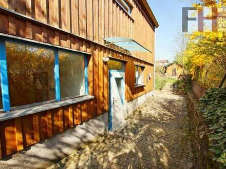 Büro/Praxis im Erdgeschoß, idealer Grundriss, ca. 73m², große Terrasse, sehr gute Lage!