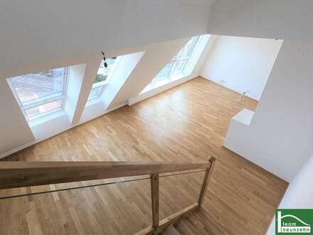Traumhaftes, lichtdurchflutetes Dachgeschoss - Maisonette! Helle 3 Zimmer Wohnung mit Terrasse! Zentrumsnähe
