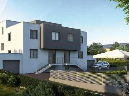 Doppelhaushälfte- 236 m² Nfl. mit großer Wohnküche, Vollkeller sowie Garage, schönem Garten und Terrasse- NEU am MARKT