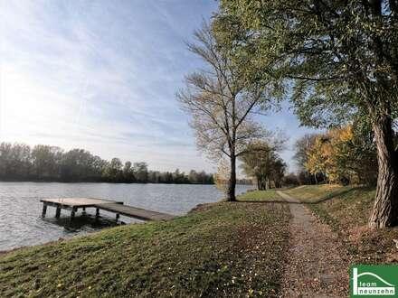 HAUS am SEE.! Großer Garten, Natur PUR - Nähe Krems und St. Pölten! Erstbezug!