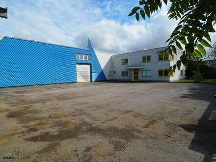 Zwei Bürogebäude und Hallen in guter Lage zu verkaufen!