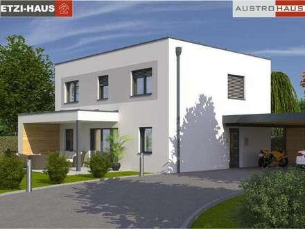 Bad Hall - Ziegelhaus ab € 367.474,- inkl. 790 m² Grund